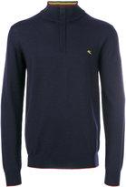 Etro zipped high neck jumper - men - Wool - L