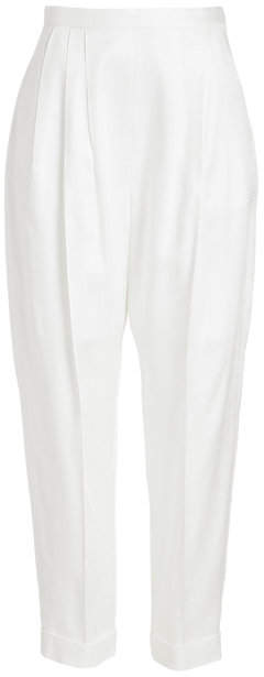 DELPOZO Tapered Pants with Pleats