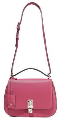 Valentino Garavani Joylock Textured-leather Shoulder Bag
