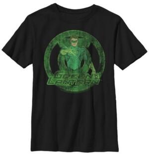Fifth Sun Dc Comics Little and Big Boys Green Lantern Power Short Sleeve T-Shirt
