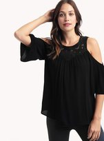 Ella Moss Olivier Cold Shoulder Top
