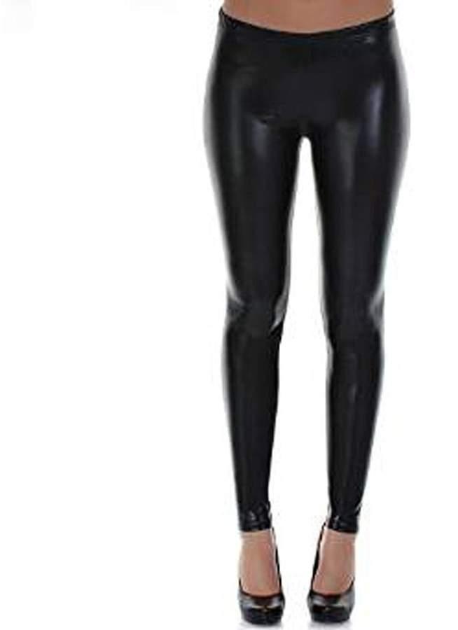 48ee0e6d62277 Shiny Black Leggings - ShopStyle Canada
