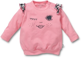 Noppies Children's Round Neck Long Sleeve Jersey 50 Rosa (Pink (Pink))
