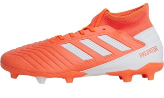 adidas Predator 19.3 FG Firm Ground Boots Hi-Res Coral/Footwear White/Glow Pink