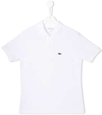 Lacoste Kids Logo Embroidered Polo Shirt