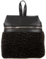 Kara Small Woven Backpack