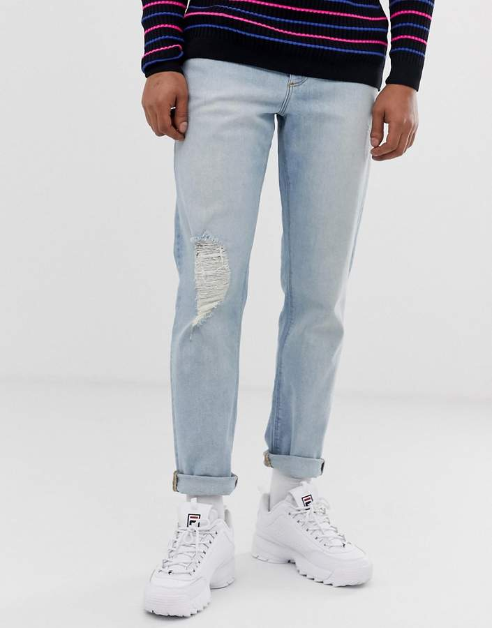 dacfb573ce6 Vintage Ripped Jeans Mens - ShopStyle