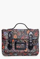 Boohoo Tilly Ditsy Floral Satchel