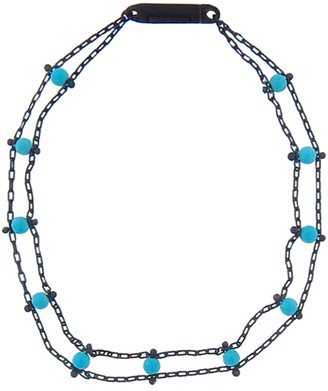 Ten Thousand Things Studded Turquoise Ladder Bracelet