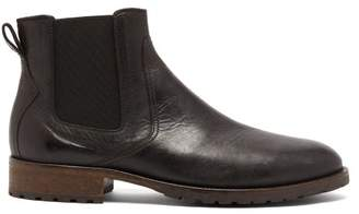 Belstaff Rode Leather Chelsea Boots - Mens - Black