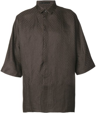 Haider Ackermann Jacquard Effect Shirt