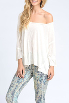 Mono B Off Shoulder Tee