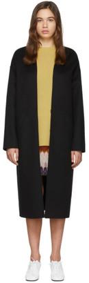 Loewe Black Cashmere Over Coat