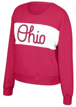 Top of the World Women's Ohio State Buckeyes Superstar Crew Sweatshirt