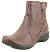 Hush Puppies Fiona Alternative Round Toe Synthetic Ankle Boot.