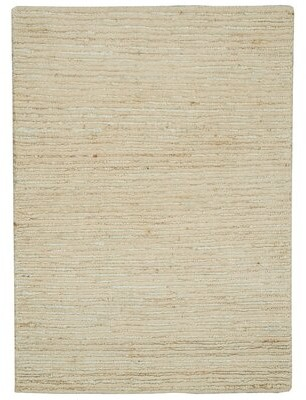 Calvin Klein Handmade Hand-Knotted Jute/ Sisal Wool Neutral Area Rug Rug Size: Rectangle 2' x 3'