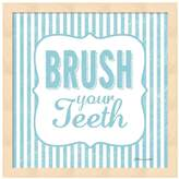 "Metaverse Art ""Brush Your Teeth"" Framed Wall Art"