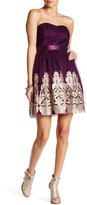 Minuet Tube Boarder A-Line Dress