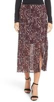 Nic+Zoe Petite Women's Confetti Pleat Midi Skirt