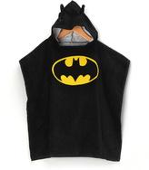 Intimo Batman Terry Hooded Poncho - Boys