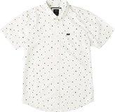 RVCA Men's Growth Decay Short Sleeve Woven Shirt