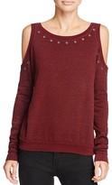 Rebecca Minkoff Bunny Eyelet Sweatshirt