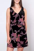 Everly Velvet Floral Dress