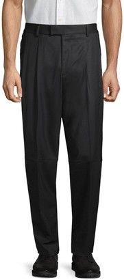 HUGO BOSS Standard-Fit Wool-Blend Pants