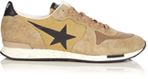 Golden Goose Deluxe Brand Running low-top suede and nylon trainers