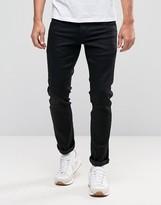 Jack and Jones Intelligence Slim Fit Jeans In Black
