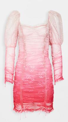 For Love & Lemons Cherish Mini Dress