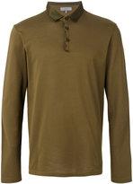 Lanvin long sleeved polo shirt - men - Cotton/Polyester/Viscose - S