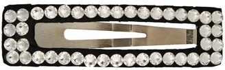Bari Lynn Rectangle Crystal-Embellished Clip