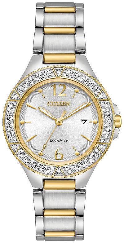 Citizen Womens Two Tone Bracelet Watch-Fe1164-53a