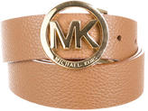 Michael Kors Leather Logo Waist Belt