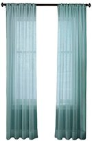 CHF Felicity Crinkle Voile Sheer Curtain Panel 51''W x 84''L Blue