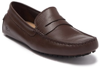 Lacoste Concours 118 Leather Moc Driver