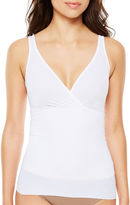 Ambrielle No Side-Show V-Neck Tummy Shaping Firm Control Shapewear Camisole-129-3049