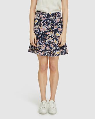 Oxford Sabrina Floral Flip Skirt