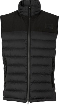 Burberry Logo Patch Puffer Gilet
