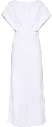 Miu Miu Canvas Mid-Length Dress