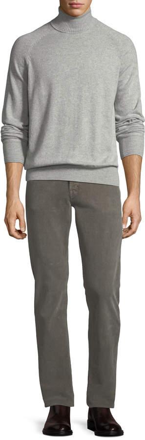 Tom Ford 5-Pocket Straight-Leg Corduroy Pants