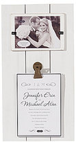 Mud Pie Wedding Collection Invitation Clip Frame