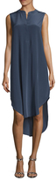 L'Agence Morocco Henley High Low Dress