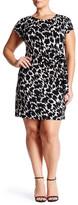 Leota Matte Jersey Midi Dress (Plus Size)