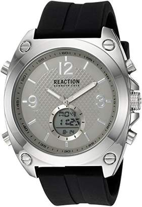 Kenneth Cole Reaction Male Analog-Quartz Watch with Strap