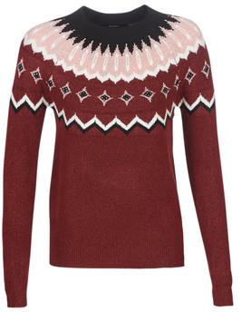 Vero Moda VMTITI women's Sweater in Brown