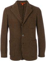 Barena houndstooth pattern blazer - men - Cotton/Polyamide/Wool - 46