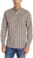 Dockers Long Sleeve Shadow Plaid Cvc Woven Shirt