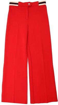 Gucci Flared Milano Jersey Viscose Pants